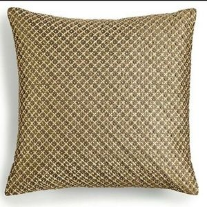 Handstiched Beaded Decorative Pillows 16x16